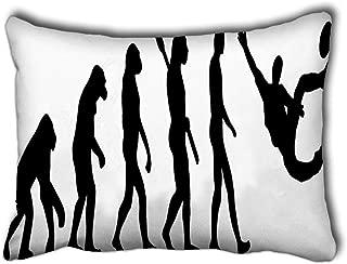 Randell Popular Pillowcase Soccer Football Evolution Sidekick Cushion Cover 20 X 30 Inches