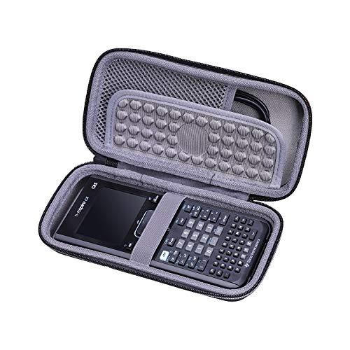 XANAD Estuche rígido de viaje para Texas Instruments TI Nspire CX CAS Calculadora gráfica - Bolsa protectora de almacenamiento