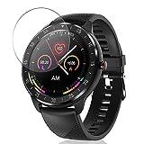 Vaxson 3 Stück Schutzfolie, kompatibel mit CanMixs zl05 smartwatch Smart Watch, Displayschutzfolie TPU Folie Bildschirmschutz [nicht Panzerglas Hülle Case ]