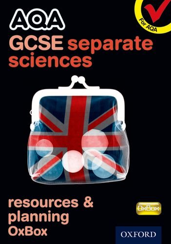 AQA GCSE Separate Science Resources and Planning OxBox CD-ROM