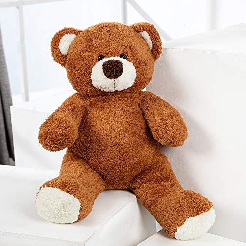 MorisMos 23 Inches Teddy Bear Stuffed Animals Soft Bear Plush Toy Gift for Children Kids Girlfriend (Brown, 23 Inches)