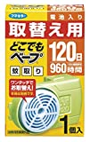 Japan Health and Bugs Repellent - 1 Pieces for Replacement Anywhere Bepu Mosquito