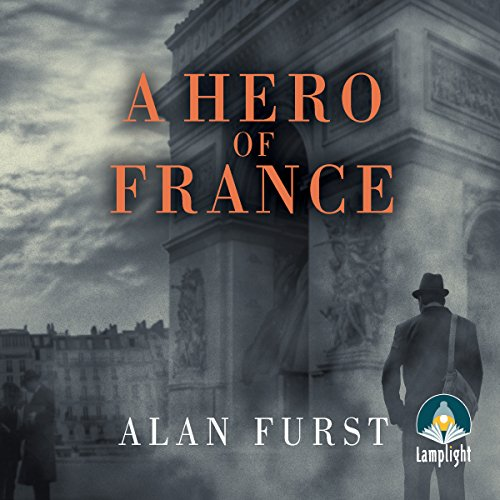 A Hero of France audiobook cover art