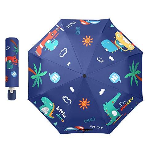 Paraguas Ultraligero Para Niños, Folding Umbrella, Paraguas Pequeño Con Apertura Automática, Paraguas...