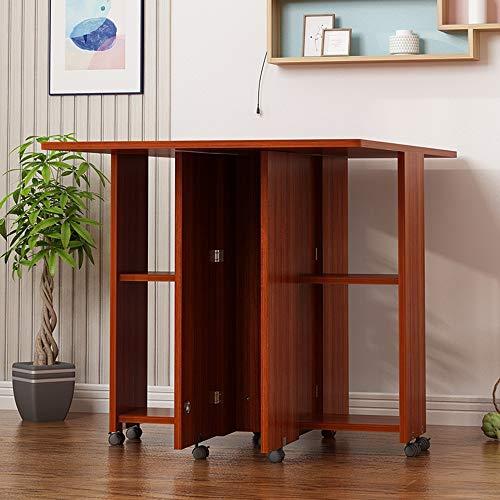 Desks DD klaptafel - Eettafel Huishoudelijke Multifunctionele Ronde 2-4 Personen Tafel Schaalbare Beweging -Werkbank