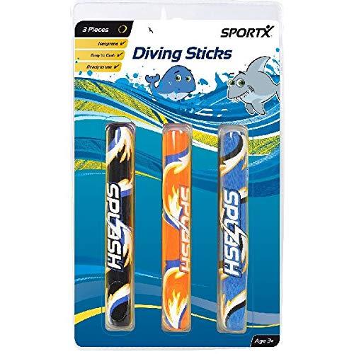 Sportx - 0765004 - Aide À La Nage - Dive Sticks en Néoprène