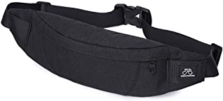GoFar Fanny Pack, Slim Water Resistant Waist Bag Chest Sling Bag Hip Purse for Men Women Outdoors Running Hiking Carrying Phone Money & Everyday Essentials