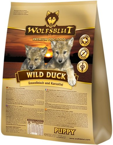 Wolfsblut Wild Duck Puppy, 1er Pack (1 x 15 kilograms)