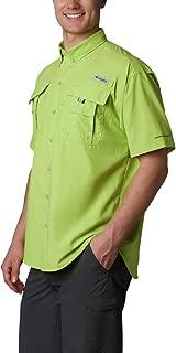 Men's Bahama Ii Short Sleeve Shirt, Green Glow, Small