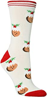 QueenMM Cotton Christmas Socks Women/Men Autumn Winter New Year Santa Claus Christmas Tree Snow Fancy Holiday Soft