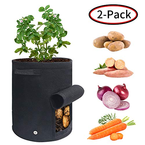 Growsun 3 drawstring lock-top Fabric Pots