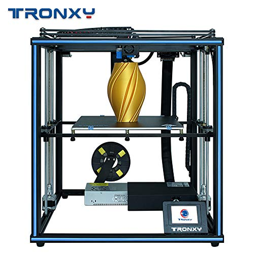 TRONXY X5SA Pro Industrial 3D Printer Ultra Silent Motherboard + Titan Extruder, Automatically Leveling with Industrial Linear Guide, Big Print Size 330X330X400mm …