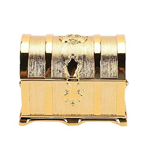 TMISHION schatkist - gouden Europese palace stijl retro sieradendoos piraten stijl sieraden doos gift box sieraden organizer