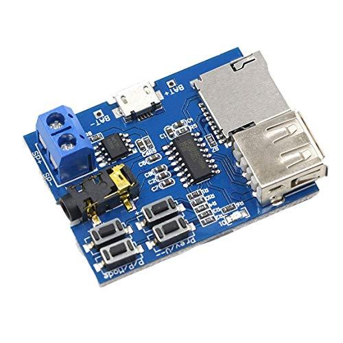 TF-Karte U-Disk MP3-Format Decoder-Board-Modul Verstärker Decodierung Audio-Player Mp3 Verlustfreie Decoder-Karte