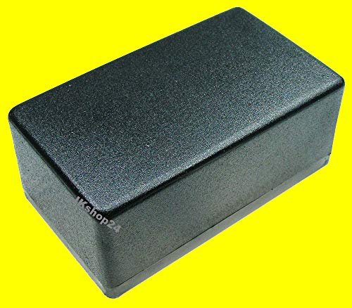 Kunststoff-Gehäuse 120 x 70 x 50 mm Plastic-Case mittelhohes Gehäuse Kunststoff-Leergehäuse universal für Einbau von Elektronik, LED, Tool, Platinen, Lautsprecher etc.
