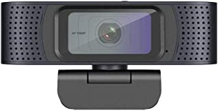 YIJ-YIJ Webcam with Microphone, Full HD Webcam,Laptops and Desktop Camera, Angle Full HD Conference Webcam,for Laptops and...
