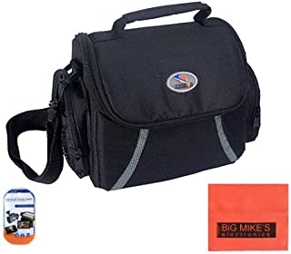 crb0201 First2savvv anti-shock camcorder carry case bag with should strap for Canon legria HF R16