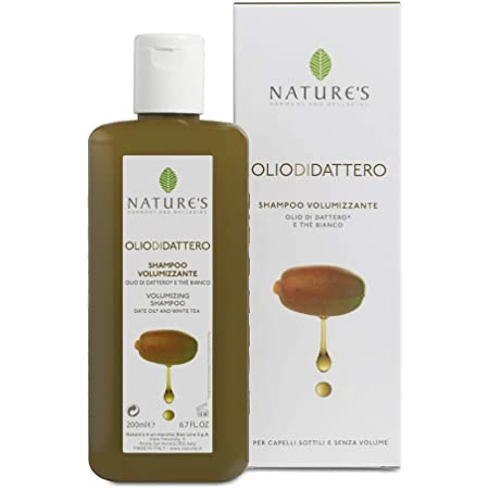 Bios Line 53721 Oliodidattero Natures Shampoo Volumizzante, 200 ml