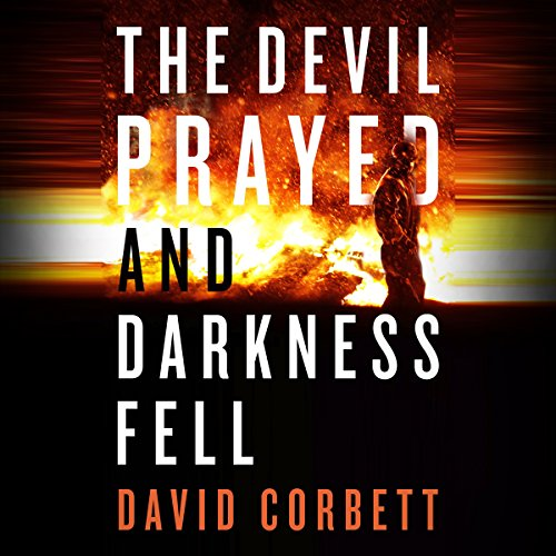 The Devil Prayed and Darkness Fell audiobook cover art