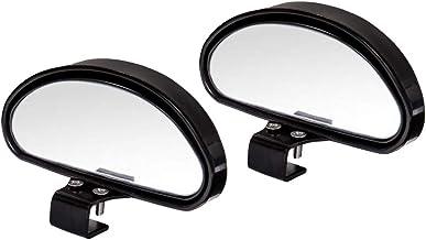 WildAuto Espejos de Punto Ciego Espejo Retrovisor Exterior Coche Espejo Retrovisor Apto Para Todo Tipo de Vehículos(2 Pcs-Retrovisores-Negro)