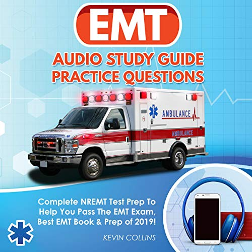 EMT Audio Study Guide Practice Questions audiobook cover art