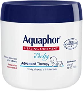 Aquaphor Baby Healing Ointment, Advanced Therapy, 14 Ounce Jar New Born Lotion