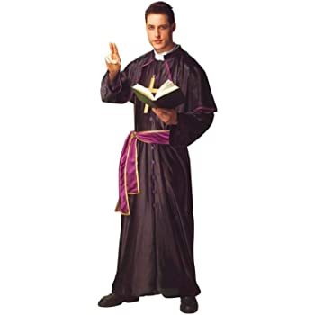 Disfraz cura monseñor. Talla 50/52.: Amazon.es: Juguetes y juegos