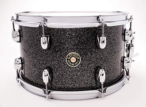 "Gretsch Drums Catalina Maple Black Stardust Snare 8x14"" CM1-0814S-BS"
