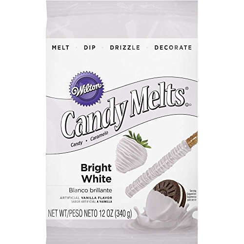 Wilton Candy Melts, Bright White, 12 oz.