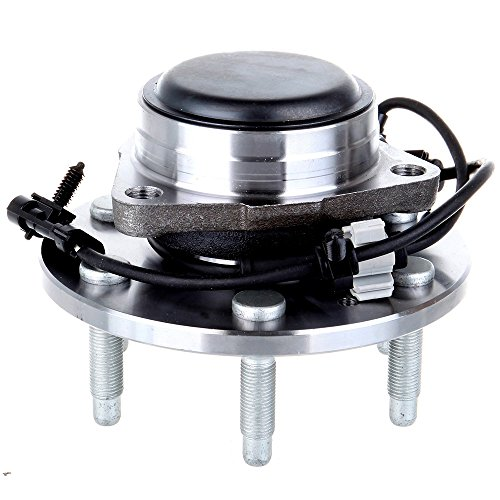 ECCPP 515054 Front Wheel Hub Bearing Assembly for Cadillac Escalade Chevy Tahoe Avalanche Silverado Suburban Express 1500 2500 GMC Yukon Sierra Savana 1500 (2WD Only) w/ABS 6 Lugs Left or Right