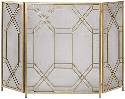 LLNN Ranking TOP11 Fireplace Screen Flat Safe Popularity Place Proof Free-Sta Fence Fire
