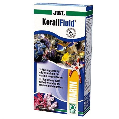 JBL KorallFluid 31000 Flüssignahrung mit Vitaminen für Korallen, Fluid 100 ml