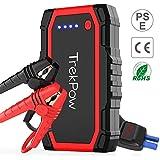 Trekpow A18 ジャンプスターター/最大800A電流/6Lまでのガソリンエンジン車・5Lまでのディーゼル車、モーターバイクに対応/モバイルバッテリー/搭載 QC 3.0 & USB-Cスマホ急速充電器/スマートブースターケーブル/LEDライト/エンジンスターター/24ヶ月保証…