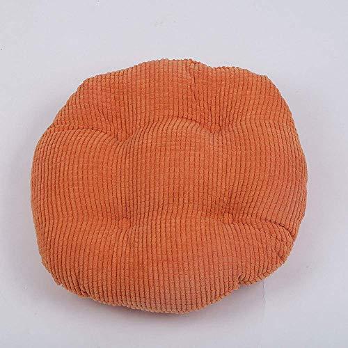 KTDT 4 Pack Cojines Redondos Antideslizantes Asiento Cojines de Silla Acolchados Premium Cojines de Asiento Acolchados Sofá para Uso en Interiores y Exteriores Cojín de Alivio de presión Ideal co