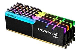 G.Skill Trident Z RGB Series, DDR4-2400, Cl 15-32 GB Quad-Kit (B01N9QN8CO) | Amazon price tracker / tracking, Amazon price history charts, Amazon price watches, Amazon price drop alerts