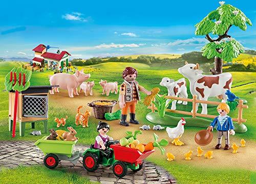 PLAYMOBIL Calendario de Adviento 70189 En la granja, A partir de 4 años