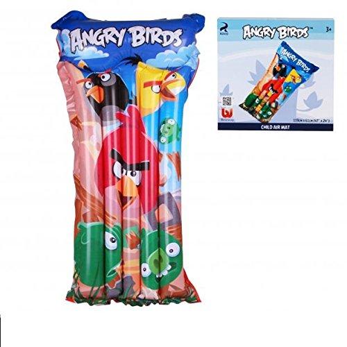 DC Matelas Pneumatique Gonflable Angry Birds - 119x61cm - Piscine - 708
