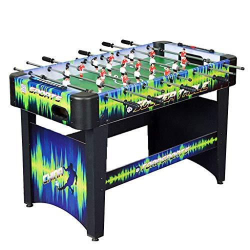 ZZXXB Tischfußball Kinder intellektuelle Entwicklung Spielzeug Multiplayer-Maschine Adult Indoor Billard Maschine Erwachsener Sport-Fußball-Maschine Eltern-Kind Interaktive Lernspielzeug Judith