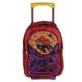 STYLBASE Kids Girls Boys Spiderman Wheels Trolley Backpack School Travel Luggage Book Bag