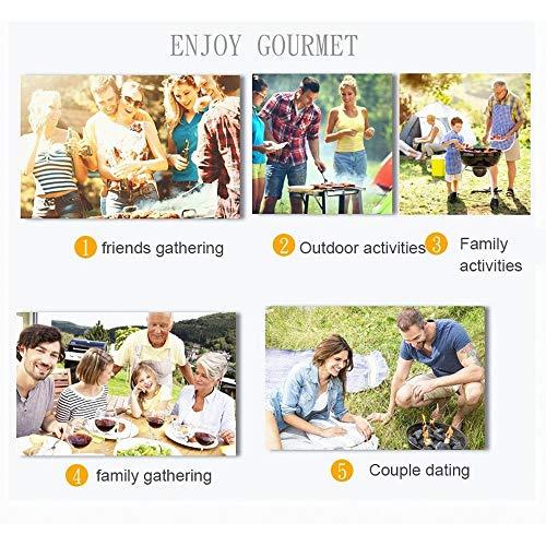 51Bd5wwGR1L - IAMXXYO 19PCSBBQ Barbecue-Werkzeug-Set, Edelstahl Grilling Kit Mit Aluminium-Gehäuse Für Camping, Premium-Grilling Grill Zubehör Für Outdoor, The Perfect BBQ-Geschenk-Set!