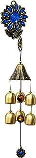 Ornaments for Living Room Desktop Sculpture Statue Feng Shui Wind Chime Sculpture Ornaments Brass Sunflower Shape Wind Chi...