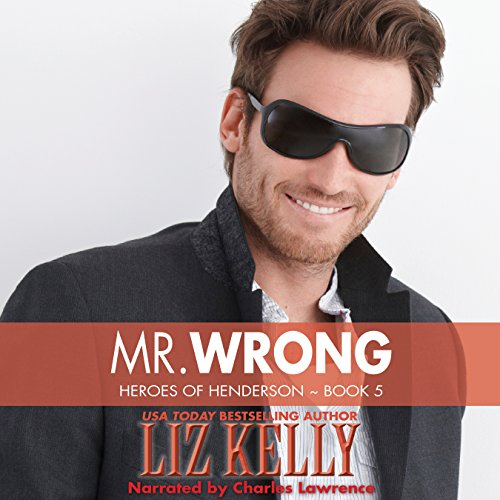 Mr. Wrong audiobook cover art