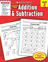 Scholastic Success with Addition & Subtraction,  Grade 2 (Success With Math)