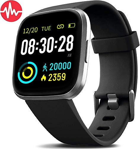 MorePro Smart Watch IP68 Waterproof Activity Tracker with Heart Rate Blood Pressure...