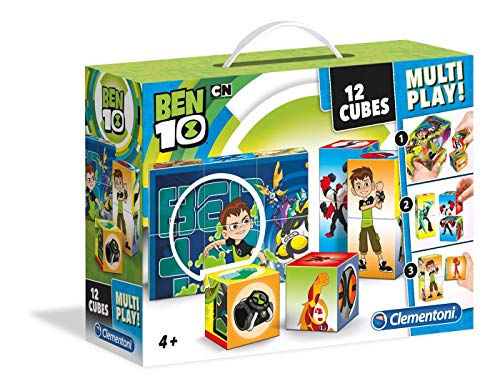 Clementoni 41507Ben 10–multiplay Puzzle Cubo, 12piezas , color/modelo surtido