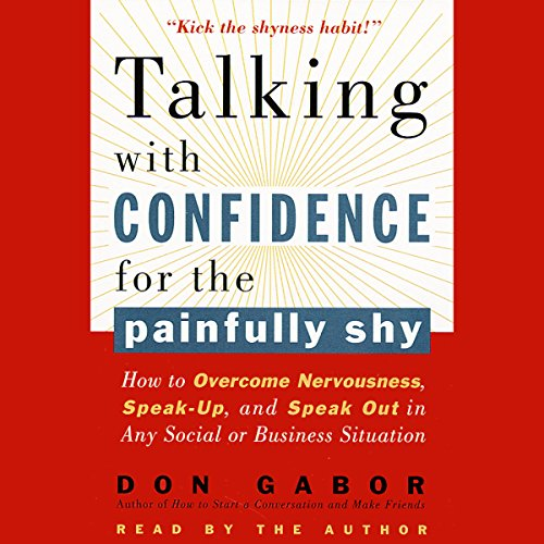 Talking with Confidence for the Painfully Shy audiobook cover art