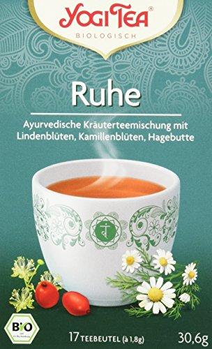 Yogi Tea Ruhe Tee Bio, 3er Pack (3 x 30.6 g)