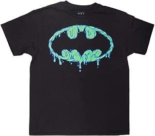 Batman Big Boys' Drip Logo Tee