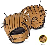OPTIMUM Guanto da Baseball per Bambino Extreme, Marrone Unisex-Adult, Brown, Senior
