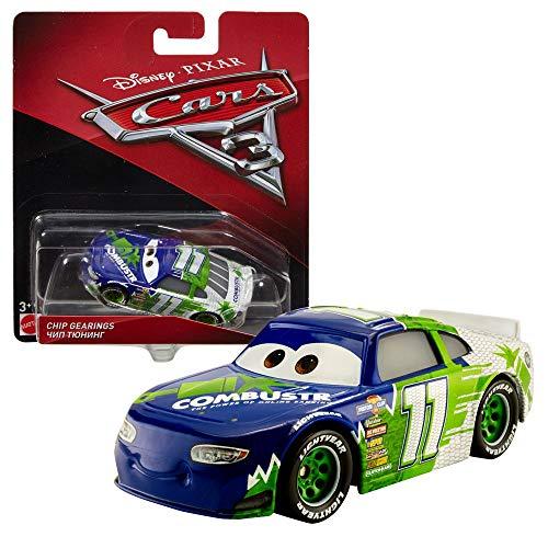 Modelle Auswahl Auto | Disney Cars 3 | Cast 1:55 Fahrzeuge | Mattel, Typ:Chip Gearings / Combuster